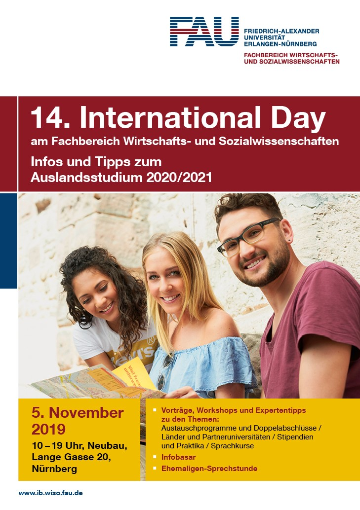 "Zum Artikel ""International Day 10.11.2020 – virtuelle Infomesse"""
